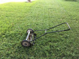 Механическая газонокосилка своими руками