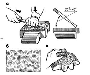 Что такое шабрение металла