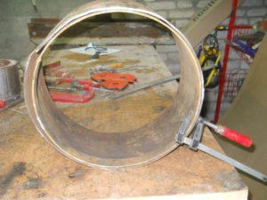 Как согнуть полосу металла в круг