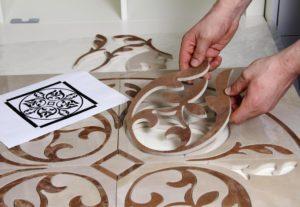 Фигурная резка керамической плитки своими руками