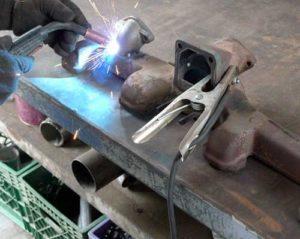 Как приварить чугун к металлу