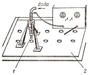Электроискровая обработка металлов своими руками