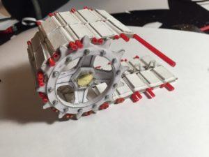 Гусеницы для модели танка своими руками