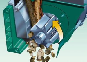 Переработка веток деревьев своими руками