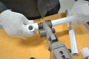Пайка пластиковых труб своими руками