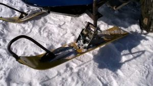 Самодельные лыжи для снегохода своими руками