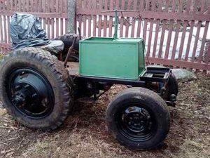 Самодельный электротрактор своими руками