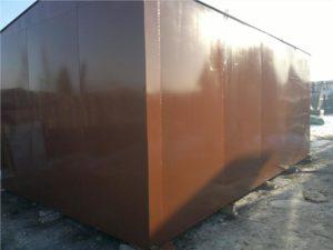Чем покрасить металлический гараж снаружи