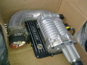 Механический нагнетатель воздуха для автомобиля своими руками