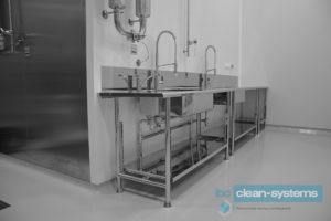 Мебель для чистых помещений из нержавеющей стали