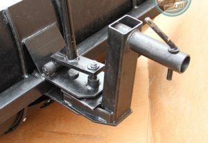 Как сделать лопату к мотоблоку своими руками