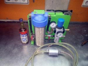 Фильтр влагоотделитель для компрессора своими руками