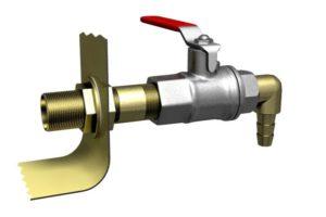 Как врезать кран в металлическую бочку