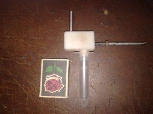 Игольчатый кран для отбора ректификата своими руками
