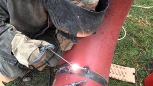 Как варить трубы электросваркой на просвет