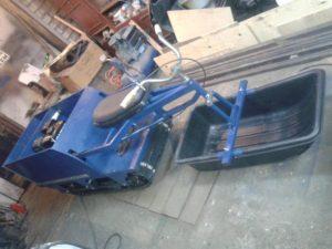 Мотобукс толкач своими руками