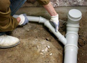 Сборка канализационных труб своими руками