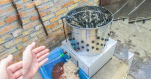 Перосъемная машина для перепелов своими руками
