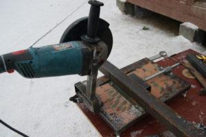 Как сделать станок для болгарки своими руками