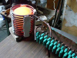 Самодельная индукционная печь для плавки металла