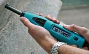 Прибор для измерения плотности бетона