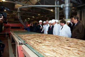 Производство ОСБ плит в России