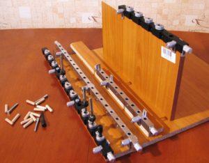 Кондуктор для сборки мебели своими руками