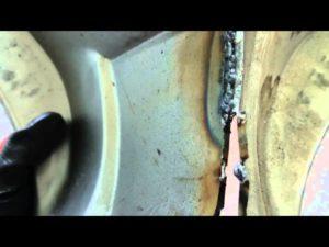 Сварка полуавтоматом без газа обычной проволокой