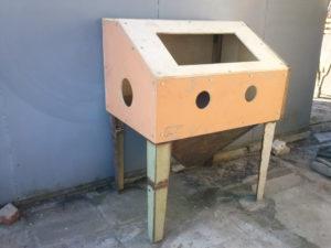 Пескоструйный шкаф своими руками