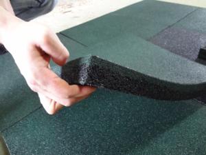 Плитка из резиновой крошки своими руками