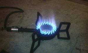 Газовая горелка под казан своими руками