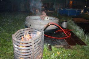 Дровяной водонагреватель своими руками