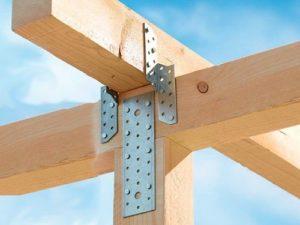 Металлические пластины для крепления деревянных конструкций