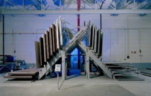 Хранение листового металла вертикально