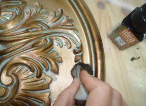 Как состарить металл под бронзу