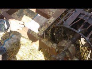 Как сделать молотилку для зерна своими руками