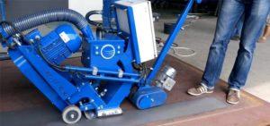 Дробеструйная машина по металлу