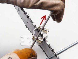 Как заточить цепь бензопилы своими руками напильником