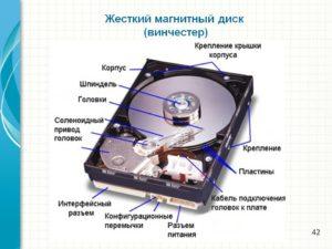 Из какого металла сделан жесткий диск компьютера
