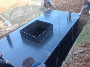 Кессон для погреба металлический своими руками