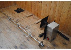 Вертел для мангала с электроприводом своими руками