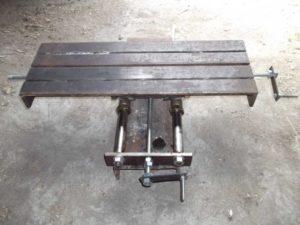 Координатный столик для сверлильного станка своими руками