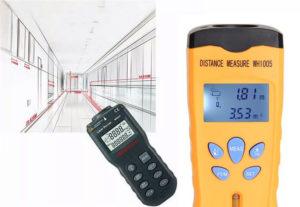 Прибор для измерения площади квартиры