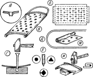 Как сделать терку для свеклы своими руками