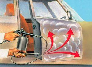 Как обработать автомобиль своими руками