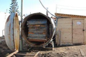 Вакуумная сушильная камера для древесины своими руками