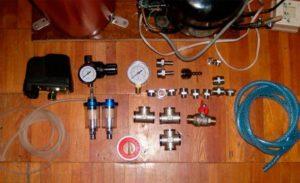 Как собрать компрессор своими руками
