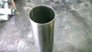 Как сделать трубу из оцинковки своими руками
