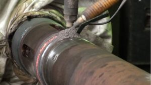 Наплавка металла полуавтоматом