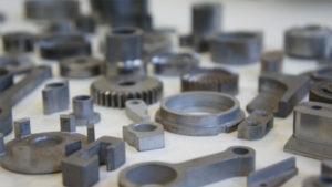 Производство деталей из металлических порошков